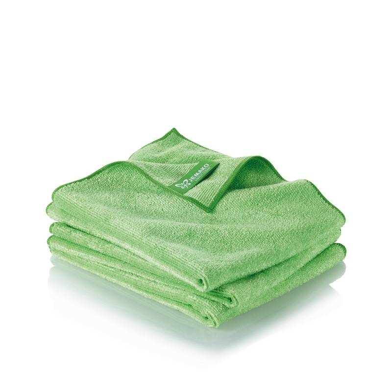 Chiffon pro triopack 40 x 45 cm vert incl bo te clip for Devenir decorateur interieur