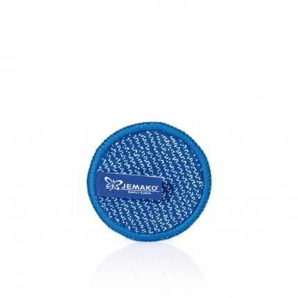 JEMAKO DuoPad mini Ø 9,5 cm, blaue Faser aigner-Team