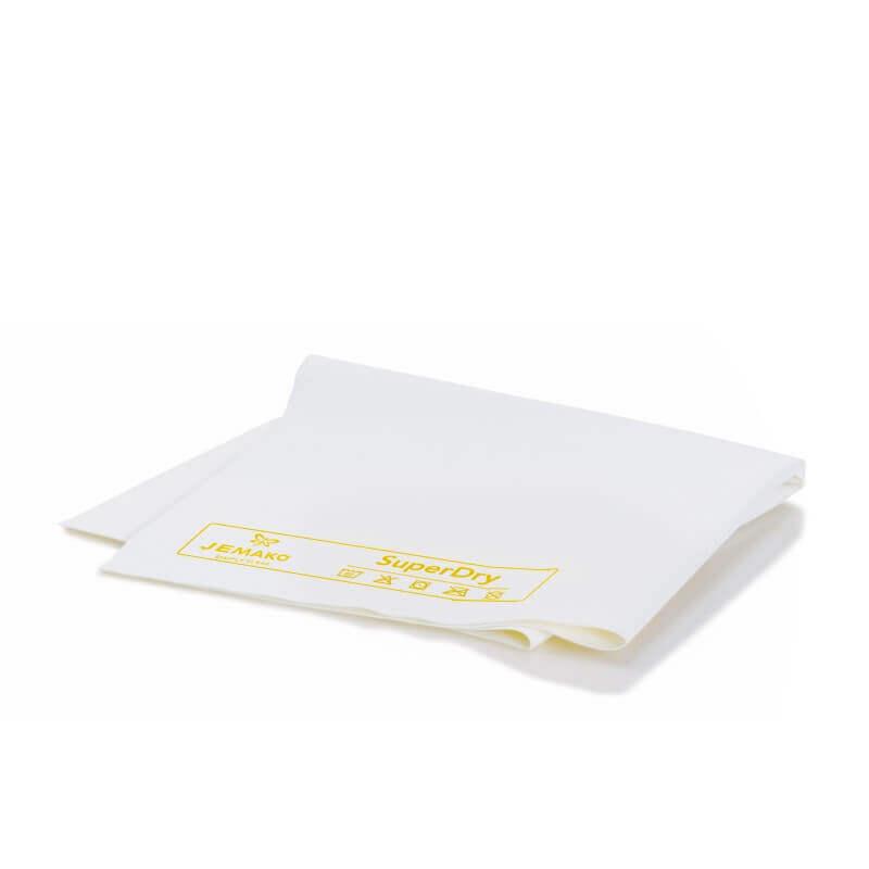 Zeemleer SuperDry 40 x 45 cm wit geel