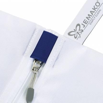 jemako sac linge 47 x 49 cm avec prot ge curseur bleu. Black Bedroom Furniture Sets. Home Design Ideas